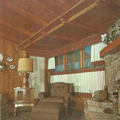 """Today's vintage 1960 catalog is a real treat — especially for those of us who love knotty pine (do you know about our other little website, Knotty is Nice?). And even if you are not sure about the knotty, this 1960 look at """"101 Home Ideas Featuring the 10 Fine Woods of the Western Pine …"""