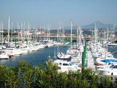 Hondarribia, Spain (looking across at Hendaye, France)