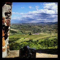 From the tower of Pietra de Giorgi castle