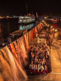 Bosphorus market . Istanbul
