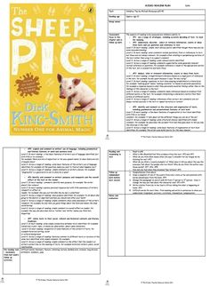 The Sheep Pig Guided Reading Plans Sheep Pig, Animal Magic, Guided Reading, Fork, Authors, Literacy, Babe, Study, English