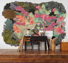 Jeudi J'aime: du wall-art fou et une couverte de loup | NIGHTLIFE.CA
