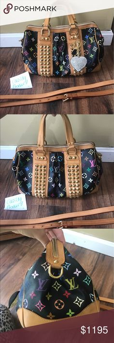 Authentic Louis Vuitton Courtney mm Preloved ! Only selling because I need to pay some bill .. sad to let her go but you will love her!! Comes with strap! Authentic ! No key chain... will take much less on 🅿️🅿️ Louis Vuitton Bags Shoulder Bags