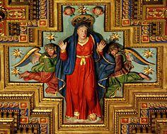 Rome, Trastevere, Church of Santa Maria in Trastevere, Action Figure Mary by Bill in STL, via Flickr
