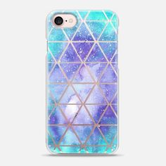 Galaxy Triangle Print - Snap Case