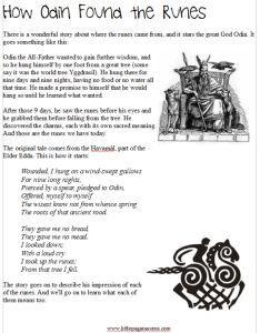 Resources | Runes, Worksheets and Vikings