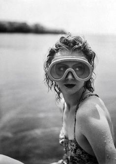 Mary Belewski by Jacques Henri Lartigue, 1941.