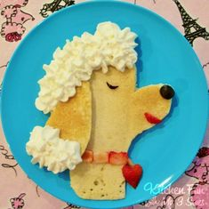 Kitchen Fun With My 3 Sons: Poodle Pancakes