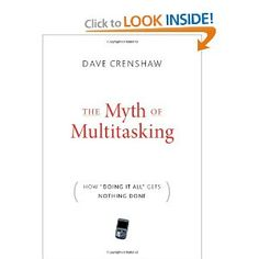 Learn why multitasking is actually a lie and how to make efficient use of your time.