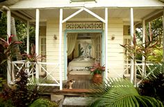 The Frangipani Cottage at Balenbouche Estate on St. Lucia