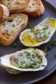 Decadent Broiled Oyster Recipe