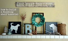The Cottage Market: Decorating with a little help from my friends