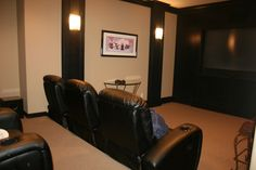 www.PalisadeHomesLLC.com Open floor plan, custom builder remodel, Lake Oswego, West Linn, Media room, theatre room, theater room Hill Country Homes, West Linn, Lake Oswego, Open Floor, Floor Plans, Flooring, How To Plan, Columns, Theater
