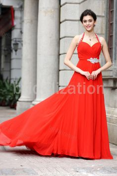 Summer Formal Evening A-Line Court Train Special Occasion Dresses