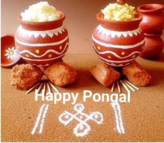 Pongal Festival - A guide to Pongal Festival celebrated in Tamil Nadu. Includes the customs and traditions about the festival. Includes Pongal Festival Recipes too. Diy Diwali Decorations, Festival Decorations, Pongal Greeting Cards, Sankranthi Festival, Thai Pongal, Pongal Celebration, Meal Calendar, Calendar 2014, Janmashtami Decoration