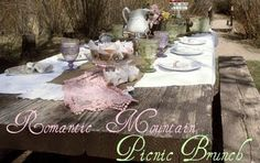 Mothers Day Mountain Picnic Brunch-love the menu and the presentation!        :)