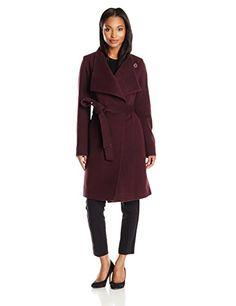 Anne Klein Women's Wool Cashmere Wrap Coat with Belt, Shiraz, 6 Anne Klein http://www.amazon.com/dp/B0140L1LEI/ref=cm_sw_r_pi_dp_xvXDwb1857E9P