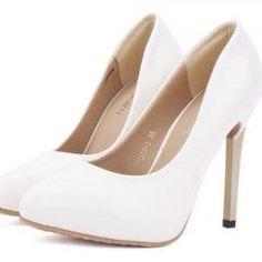 Elegant White High Heel SHo..