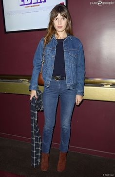 PHOTOS - Jeanne Damas - Avant-première du film Eden au cinéma Gaumont Marignan à…