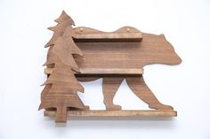 Items similar to Bear and the Woods Crystal Shelf USA on Etsy Crystal Shelves, Headphone Holder, Country Style Homes, Large Furniture, Beautiful Hands, Primary Colors, Woods, Shelf