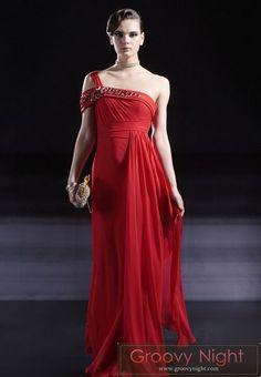 スペインレッドに斬新バックスタイルが情熱的なマタドールロングドレス♪ - ロングドレス・パーティードレスはGN 演奏会や結婚式に大活躍!