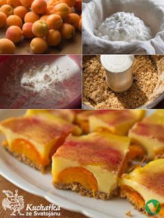 Kuchařka ze Svatojánu: KOKOSOVO-MERUŇKOVÝ KOLÁČ