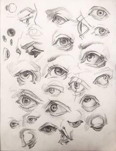 Eyes studies by anavitil face drawing в 2019 г. Pencil Art Drawings, Realistic Drawings, Art Drawings Sketches, Sketches Of Eyes, Anatomy Sketches, Anatomy Drawing, Drawing Eyes, Drawings Of Eyes, Human Eye Drawing