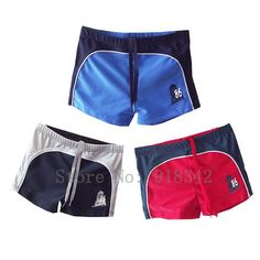 Free Shipping Retail / Wholesale  Kids Classic Swimwear Boys Swimming Trunks Bather Surfing Costume Size 3   16 in 3 colors-in Board Shorts from Apparel & Accessories on Aliexpress.com $9.40