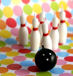 bowling candles   Bowling Ball and Pins Candles   sweetestelle - Craft Supplies on ...