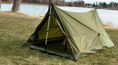 Super fast and easy set up! Great for hiking, camping, or adding to your survival bag, this compact tent will fit into your backpack without filling it up. Great one-person and gear tent or two-person tent without gear. Hiking Tent, Kayak Camping, Ultralight Backpacking, Outdoor Camping, Outdoor Gear, Backpacking Meals, Hammock Tent, Camping Hammock, Two Person Tent