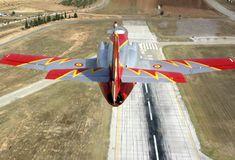 CASA C-101 Aviojet, Patrulla de Aguila, Spanish Air Force