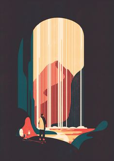 It's Nice That : Tom Haugomat's illustrations are super stylish and composed