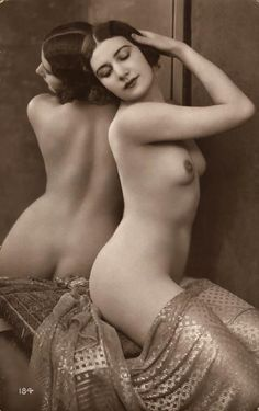 Gorgeous Vintage 1920's Nude draped in assiut. http://www.davina.us/blog/assiut-book/