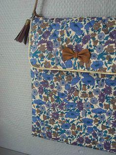 Tuto de la jolie pochette ipad by Little Fabrics