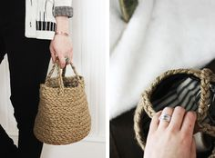 DIY Braided Basket @The Merrythought