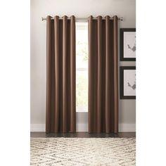 Hunter Foam-Back Thermal Grommet Curtain Panels - Pkg. Of 2 for $44.97