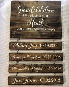 Grandparents Wood Sign - CoastalCraftyMama