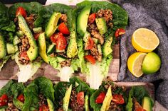 Low carb taco recipe - I 'carbed it up' with soft tacos but saving for the chicken quinoa mix