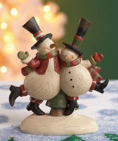 What a wonderful way to fill the home with Christmas cheer! This festive figurine will add the perfect touch of holiday magic to any tabletop or shelf display.6.72'' W x 7.68'' H x 3'' DResinImported