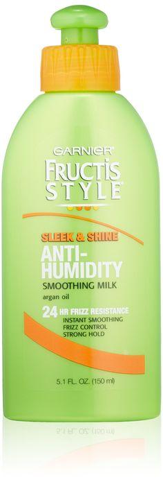 Garnier Fructis Style Smoothing Milk, Strong, 5.1 Ounce Bottle