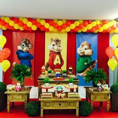 Alvin e os Esquilos (Festa) Archives - Paty ShibuyaPaty Shibuya