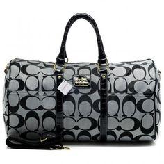 Coach Bleecker Monogram In Signature Large Grey Luggage Bags AFM  Regular Price: $69.99