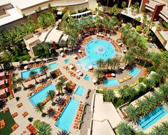 Red Rock's Hotel Pool - Las Vegas