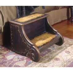 victorian bed step