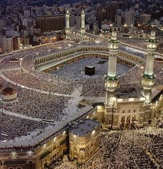 Prayer at Mecca is an example of the functionalist perspective of religion. Since all of these people identify with the same religion, its beliefs and rituals bind people together and help maintain social order.