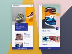 Shop shoes designed by Rosie Mobile App Ui, Mobile App Design, App Design Inspiration, Web Ui Design, Shoe Shop, Shopping, Ladies Shoes, Lotus, Promotion