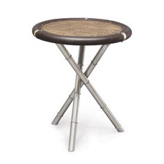 REMINGTON ROUND SIDE TABLE by PALECEK