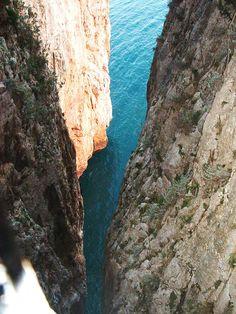 .Split Mountain, Gaeta, Italy. (I lived in the Gaeta/Formia area for 3 years! ♥♥♥C.)