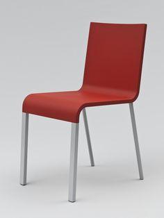 ".03 Chair  Maarten Van Severen (Belgian, 1956–2005)    1999. Polyurethane and tubular steel, 31 x 15 x 20 3/4"". Manufactured by Vitra AG, Switzerland. Gift of the manufacturer  387.2009.2"