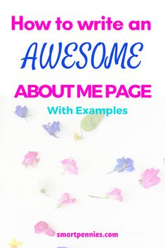 Looking for hints and tips to craft your perfect about me page then check out my post which has examples to help you figure it out!
